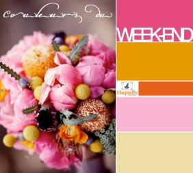 COULEURS DU WEEK-END HAPPILY