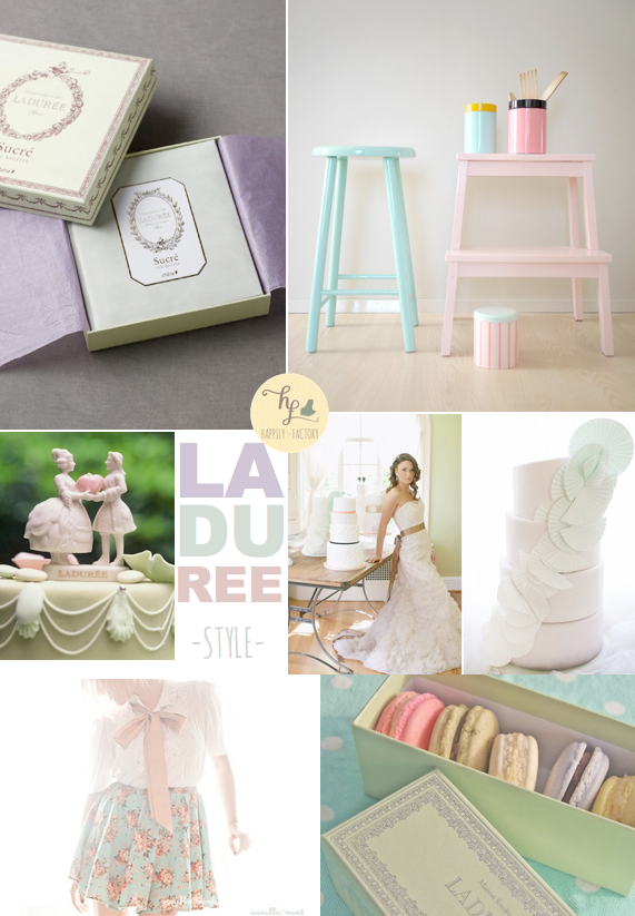 Ladurée Style Happily Factory