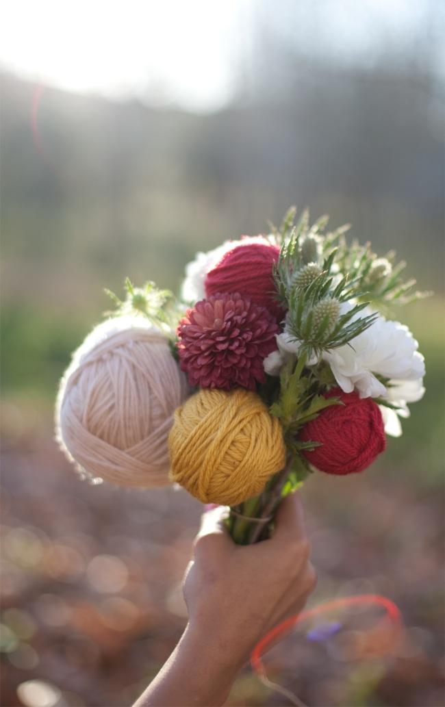 bouquet pelote